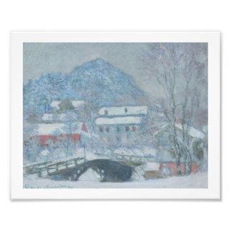 Sandviken Norway in the Snow Photo Print
