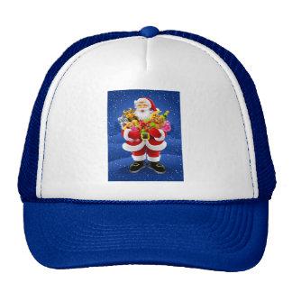 Santa Claus With Toys Cap