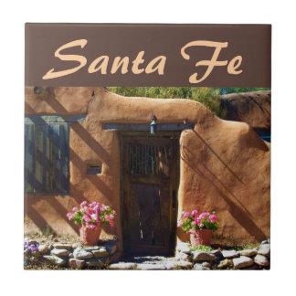 Santa Fe, New Mexico Small Square Tile