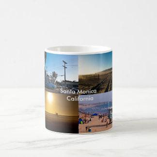 Santa Monica - California Basic White Mug