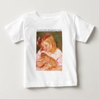 Sara Holding Her Kitten by Marie Cassatt T Shirt