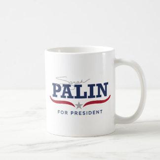 Sara Palin for President Logo Basic White Mug