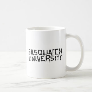 Sasquatch University - Multiple Products Basic White Mug