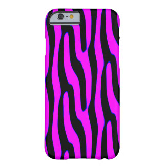 Sassy Pink Wild Animal Print Barely There iPhone 6 Case