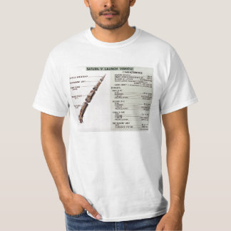 Saturn V diagram Tshirt