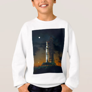 Saturn V rocket on the launch pad T Shirts