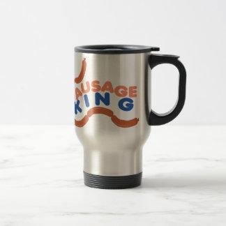 Sausage King Stainless Steel Travel Mug