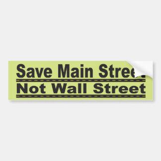 Save Main Street Bumper Sticker
