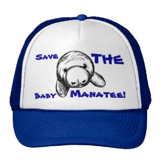 Save The Baby Manatee! Cap