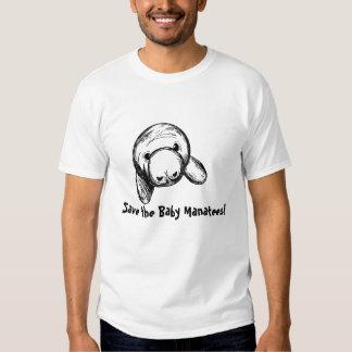 Save the Baby Manatees! Shirts