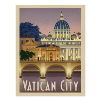 Save the Date | Italy, Rome - Vatican City Postcard