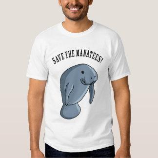 Save the Manatees! T Shirts