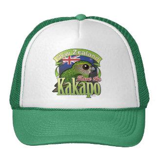 Save the New Zealand Kakapo Cap