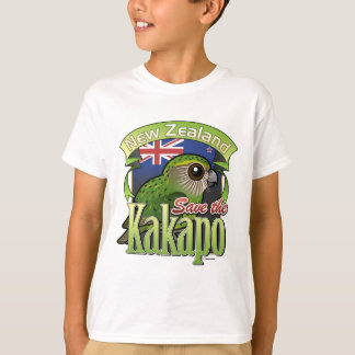 Save the New Zealand Kakapo T-shirt