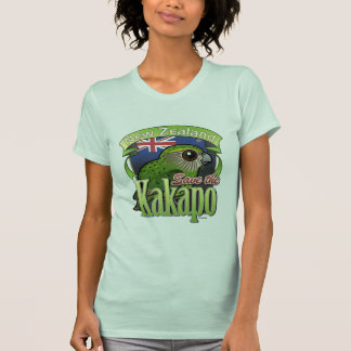 Save the New Zealand Kakapo Tshirts