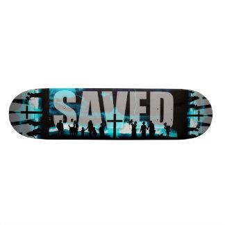 Saved Christian Logo Skateboard deck skating board