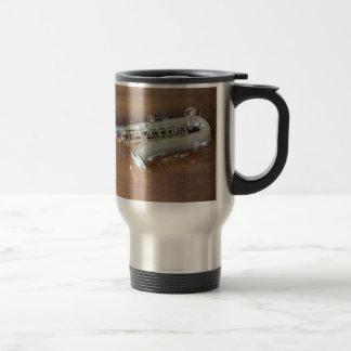 Saxophone Stainless Steel Travel Mug