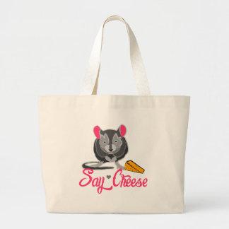 Say Cheese Mouse Jumbo Tote Bag