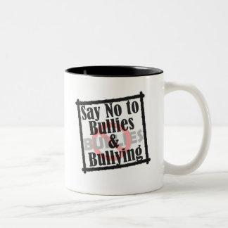 Say No to Bullies Logo Mug