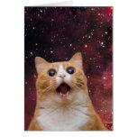scaredy cat in space note card