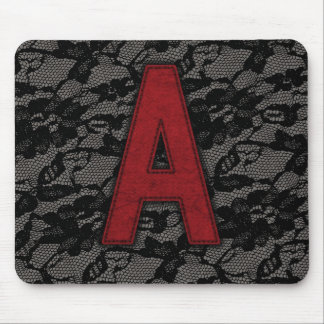 Scarlet Letter A Mouse Pad