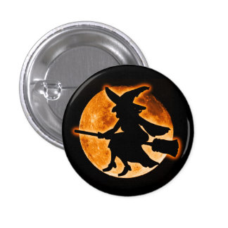 Scary Witch Button