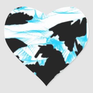 scattered thoughts 1.jpg heart sticker