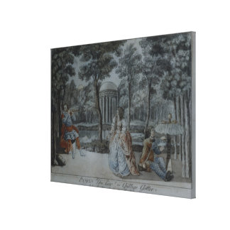 Scene from 'The Magic Flute' Stretched Canvas Prints