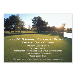 Scenic Golf Outing Invitations
