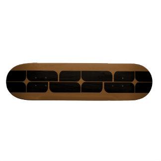 Schizm Ebony (Brown) Skateboard Deck