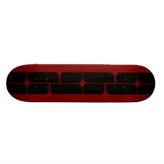 Schizm Ebony (Red) Skateboard Deck