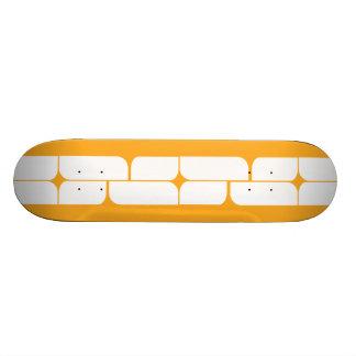 Schizm Ivory (Amber) Skateboard Deck