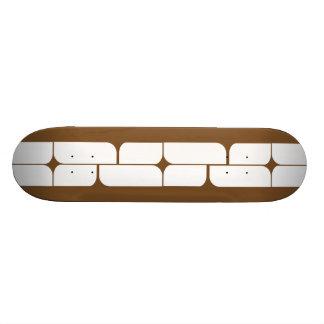 Schizm Ivory (Brown) Skateboard Deck