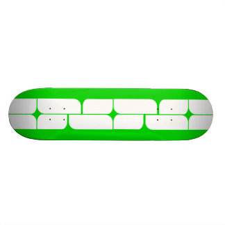 Schizm Ivory (Lime) Skateboard Deck
