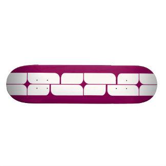 Schizm Ivory (Red-Violet) Skateboard Deck