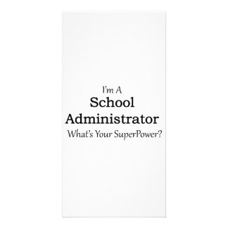 School Administrator Customised Photo Card