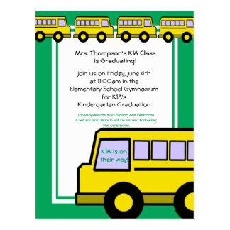 School Bus/ photo Postcard