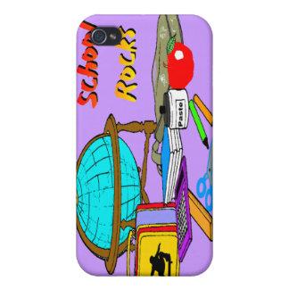 School Rocks School Supplies  iPhone 4/4S Cases