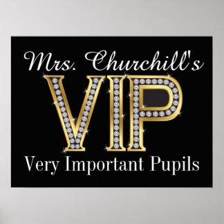 School Teacher's VIP Poster by SRF