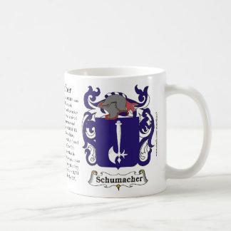 Schumacher Family Coat of Arms Mug