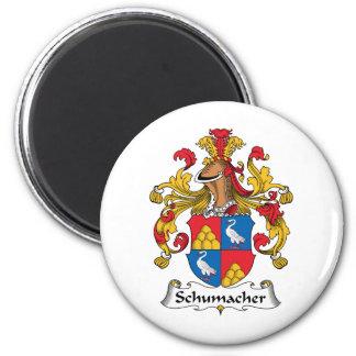 Schumacher Family Crest 6 Cm Round Magnet