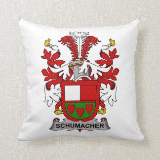 Schumacher Family Crest Throw Cushion