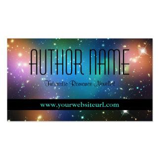 Sci Fi Author Business Card