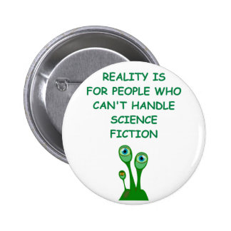 science fiction 6 cm round badge