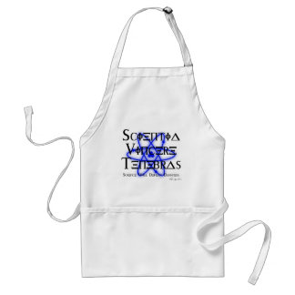 Science Will Defeat Darkness (blue) Standard Apron