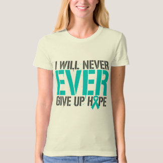 Scleroderma I Will Never Ever Give Up Hope T-shirt