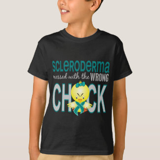 Scleroderma Messed With Wrong Chick Tee Shirt