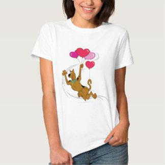 Scooby Doo - Heart Balloons T-shirt