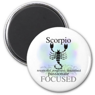 Scorpio About You 6 Cm Round Magnet
