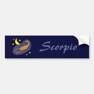 Scorpio Bumper Sticker